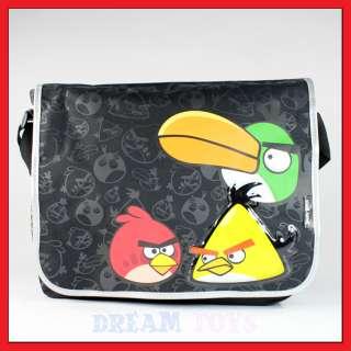 Angry Birds 3 Bird Messenger Bag   School Backpack Shoulder Red Iphone