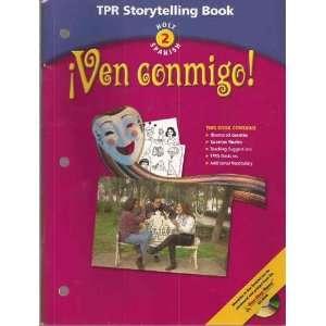 Holt 2 Spanish   TPR Storyteling Book (TPR Storytelling Book, Holt