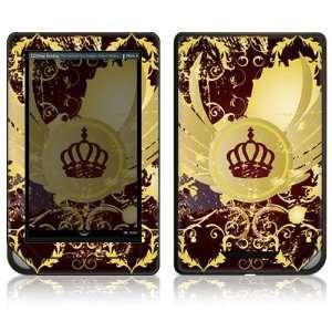 Nook Color Decal Sticker Skin   Crown