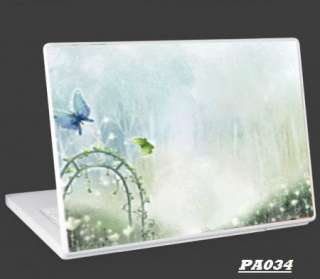 Universal Notebook Laptop Skin Vinyl Cover Butterfly