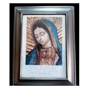 Our Lady of Guadalupe   Nuestra Senora de Guadalupe authenticated copy