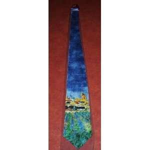 Decorative All Silk Mens Neck tie Vincent van Gogh Art