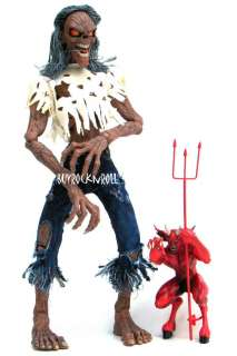 Collectible 2003 Iron Maiden Eddie 18Number of the Beast Figure Art