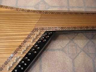 Original Ukrainian BANDURA PRIMA 55 Strings musical instrument 1985 in