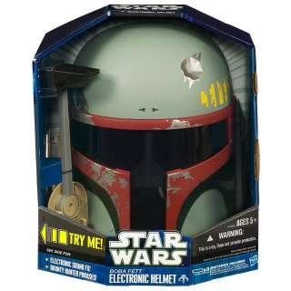 Boba Fett Star Wars Costume Electronic Pretend Helmet