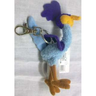 Baby Looney Tunes 4 Road Runner Plush Keychain Key Chain