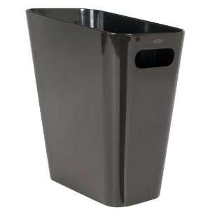 OXO Good Grips Angle Can 2.5 gallon/9.5 liter, Dark Brown