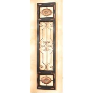 with Vintage French Door Design in Tuscan Brown Finish: Home & Kitchen