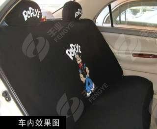 NEW Popeye Car Seat Cover Full Set 10 pcs
