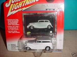 JOHNNY LIGHTNING 1934 FORD VICTORIA PHOTODESIGN ART CAR