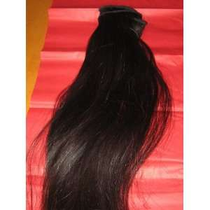 Straight Human Indian Hair Extentions Beauty
