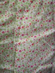 Laura Ashley Green/Pink Floral Dress Size 18 Months