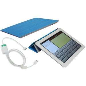 MiTAB New iPad 3 Magnetic Smart Cover Case Stand & Snyc/ Charge