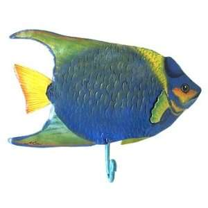 Angelfish 1 Wall Hook   Tropical Accent   Fish Decor Home & Kitchen