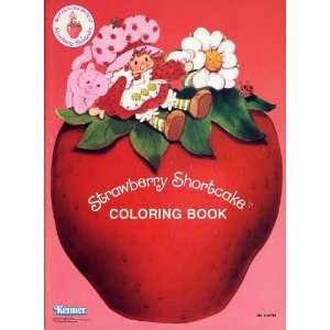 Strawberry Shortcake Coloring Book Kenner Books