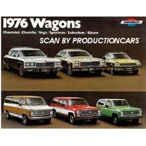 1976 Chevrolet Station Wagon   Malibu Caprice Impala   Sales Brochure