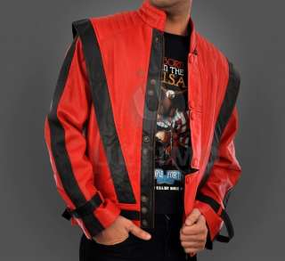 Michael Jackson Thriller Leather Jacket BNWT All Sizes
