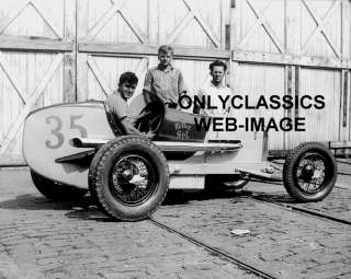 1945 DIRT SPRINT CAR MILLER AUTO RACING PHOTO  INDY 500