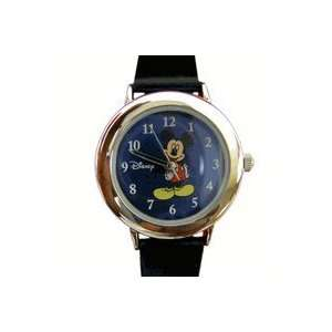 Modern Mickey Mouse Watch   Small Dial   Black Strap Toys & Games