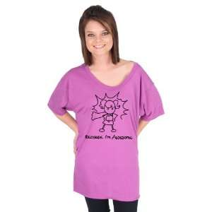 Because Im Awesome Girl American Apparel Tunic
