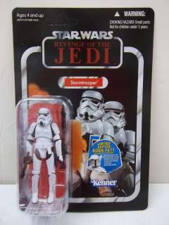 KENNER HASBRO STAR WARS REVENGE OF THE JEDI STORMTROOPER UNPUNCHED