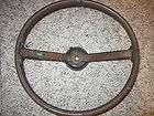 1969 1970 Ford rim blow steering wheel original 2 spoke