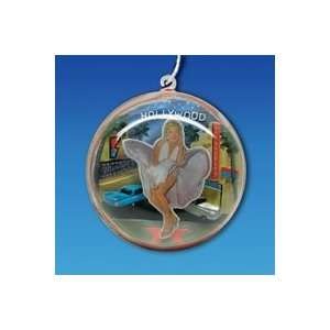 Club Pack of 12 Marilyn Monroe Hollywood Dome Christmas Ornaments 3