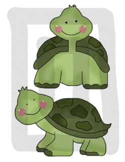 TURTLE NURSERY BABY BOY GIRL WALL ART STICKERS DECALS