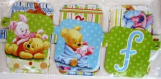 BABY POOH Baby Shower jointed banner PARTY FELICIDADES