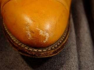 Mens Tony Lama Cowboy Boots Caramel Tan Color, 10 ½ D