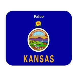 US State Flag   Palco, Kansas (KS) Mouse Pad Everything