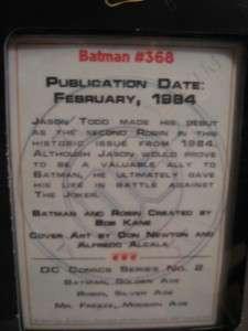 DC Comics COMIC BOOK Champions PEWTER Replicas Batmans ROBIN MR