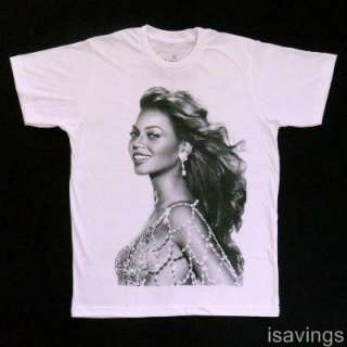 BEYONCE T shirt, Hip Hop R&B Soul DIVA Icon White S M L