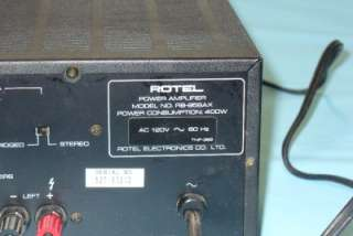 ROTEL RB 956 Six Channel Power Amplifier