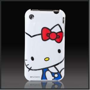 Big Hello Kitty on White Images hard case cover for Apple iPhone 3G