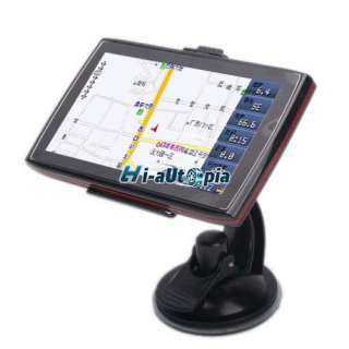 4GB 480 x 272 5 Inch Color TFT Touch Screen Car GPS Navigator With