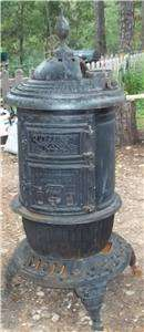 Round Oak Parlor Stove no 8