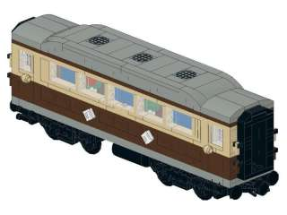 LEGO Train Emerald Night PASSENGER CAR 10194 INSTRUCTIONS ONLY 10185