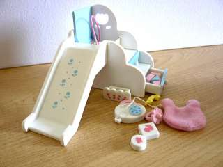 Sylvanian Families Cute Baby Slide Playset Playground