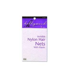 Hollywood French Style Hair Nets  Black Beauty