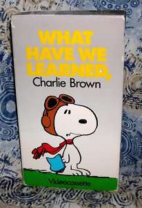 What Have We learned, Charlie Brown Memorial Day Salute