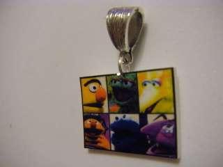 Sesame Street Gang Pendant   Bert Ernie Big Bird Oscar