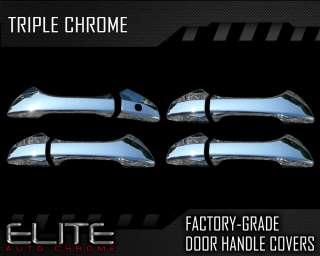 2008 2011 Honda Accord 4dr Chrome Door Handle Covers (No Passenger