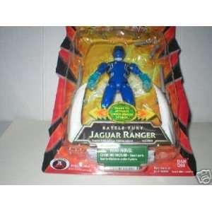 Power Rangers Jungle Fury Jaguar Ranger/Battle Fury Jaguar Ranger/Blue