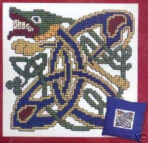 Textile Heritage CELTIC HOUND Cross Stitch Kit