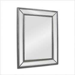 Beveled Rectangular Wall Mirror in Silver OUR SKU# REW1191 MPN MT783
