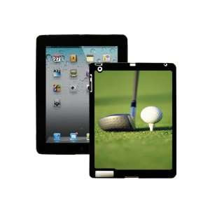 Golfball Green Blur   iPad 2 Hard Shell Snap On Protective