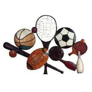 Art Sculpture Balls Badminton Table Tennis Tenni