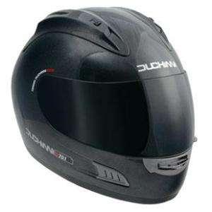 Duchinni D701 Motorcycle Helmet Large Matt Black Bike Crash Lid