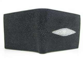 Genuine Stingray Leather LARGE PEARL Mens Wallet SALE